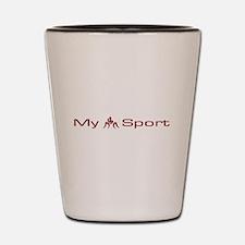 My Sport - Wrestling Shot Glass
