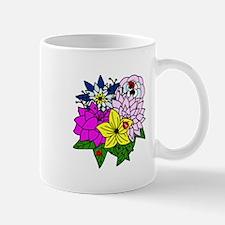 Lady Bug Flower Bed Mug