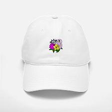 Lady Bug Flower Bed Baseball Baseball Cap