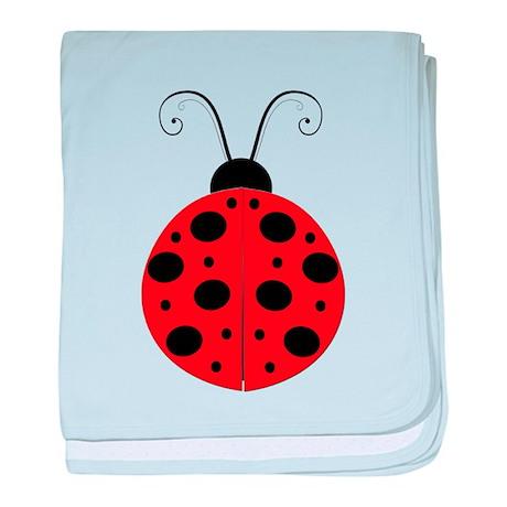Lady Bug baby blanket