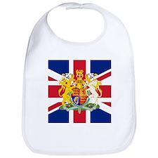 UK Flag and Coat of Arms Bib