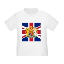 UK Flag and Coat of Arms T
