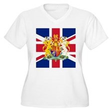 UK Flag and Coat of Arms T-Shirt