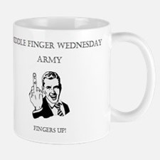 Middle Finger Merchandise Small Small Mug