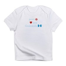 Peace, Love and Guatemala Infant T-Shirt