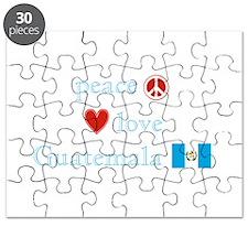 Peace, Love and Guatemala Puzzle
