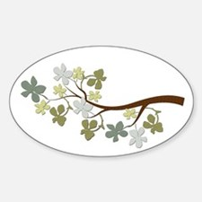 Leafy Tree Branch Decal