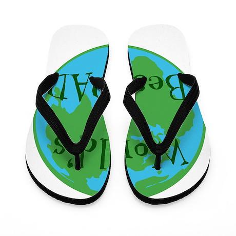 World's Best DAD Flip Flops