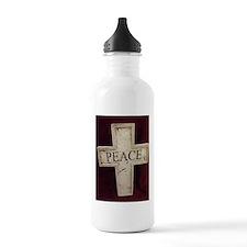Peace Cross Water Bottle