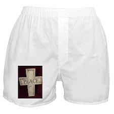 Peace Cross Boxer Shorts