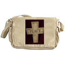 Peace Cross Messenger Bag