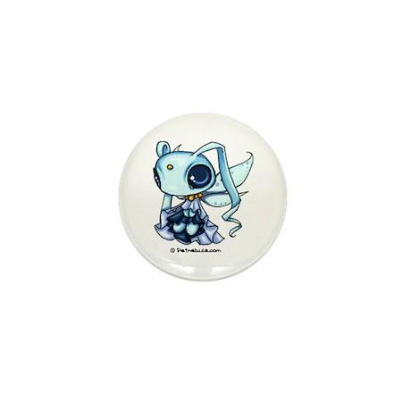 Blue Space Sprite Mini Button