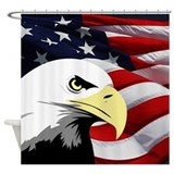 America Shower Curtains