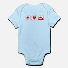Peace, Love and Greenland Infant Bodysuit