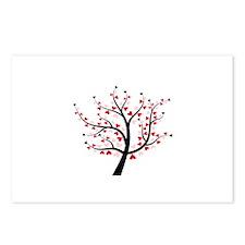 Valentine Love Tree Postcards (Package of 8)