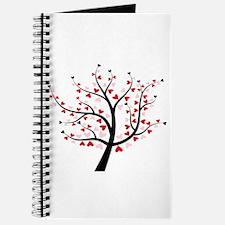 Valentine Love Tree Journal
