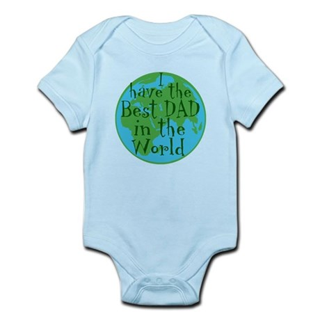 Best Dad in the world Infant Bodysuit