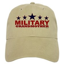 Military Grandmother Baseball Cap
