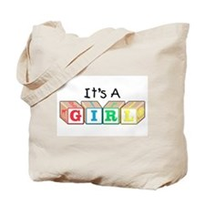 It's a Girl! New Baby Tote Bag