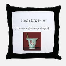 Funny Pharmacy student Throw Pillow