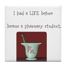 Cute Pharmacy student Tile Coaster
