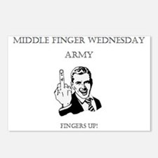 Middle Finger Merchandise Postcards (Package of 8)