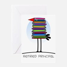 Retired Principal Greeting Card
