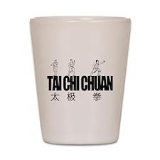 Tai Chi Chuan Shot Glass