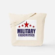 Military Grandmother Tote Bag