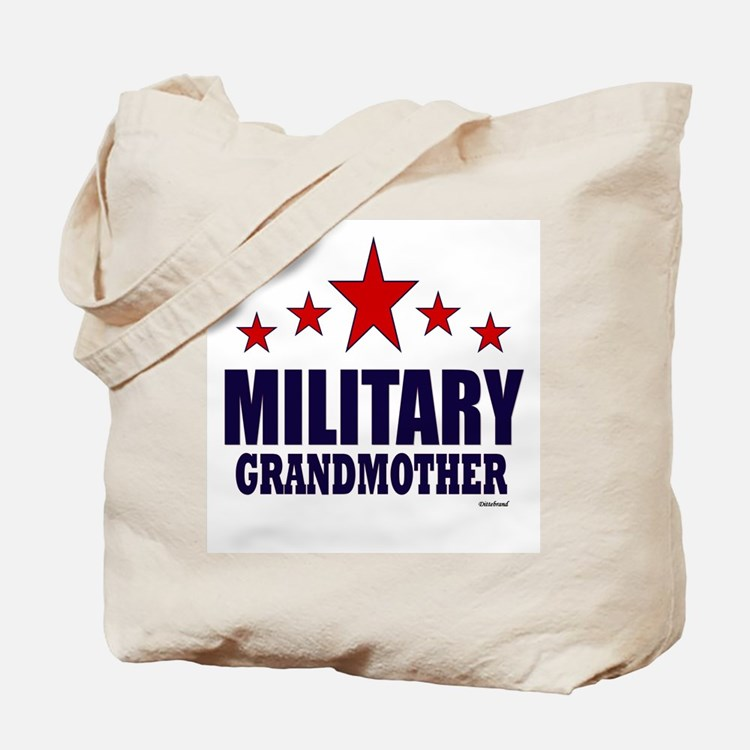 Military Grandmother Tote Bag