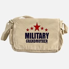 Military Grandmother Messenger Bag