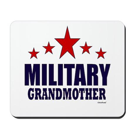 Military Grandmother Mousepad