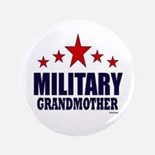 "Military Grandmother 3.5"" Button"