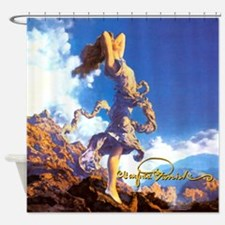 Maxfield Parrish Ecstasy Shower Curtain