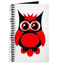 Red Punk Owl Journal