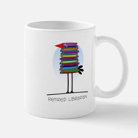 Retired Librarian Mug