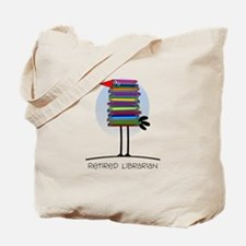 Retired Librarian Tote Bag