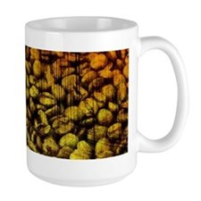 Grunge Coffee Bean Mug
