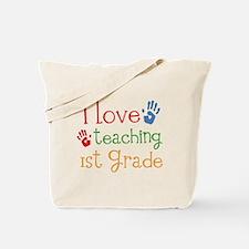 Love Teaching 1st Grade Tote Bag