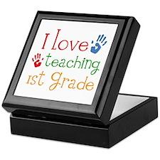 Love Teaching 1st Grade Keepsake Box