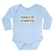 Funny December 21 Long Sleeve Infant Bodysuit