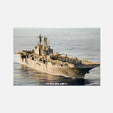 USS IWO JIMA Rectangle Magnet