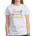 Love Teaching 2nd Grade Women's T-Shirt