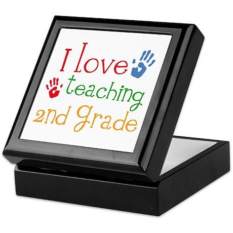 Love Teaching 2nd Grade Keepsake Box