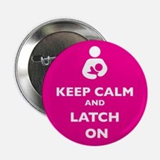 "Cute Breastfeeding 2.25"" Button (100 pack)"