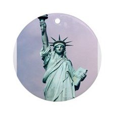 Statue of Liberty: No. 10 Ornament (Round)