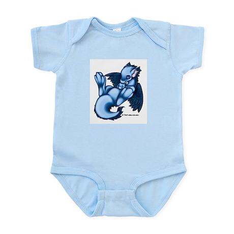 Blue Liath Infant Creeper