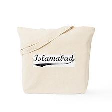 Vintage Islamabad Tote Bag