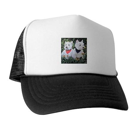 Fancy and Grumpy Trucker Hat