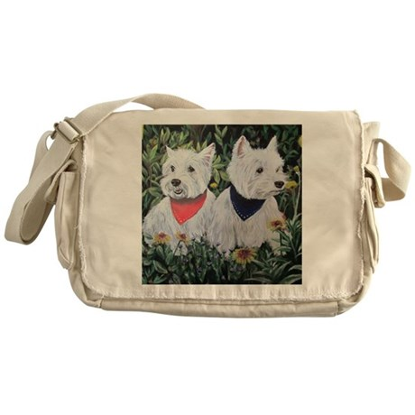 Fancy and Grumpy Messenger Bag